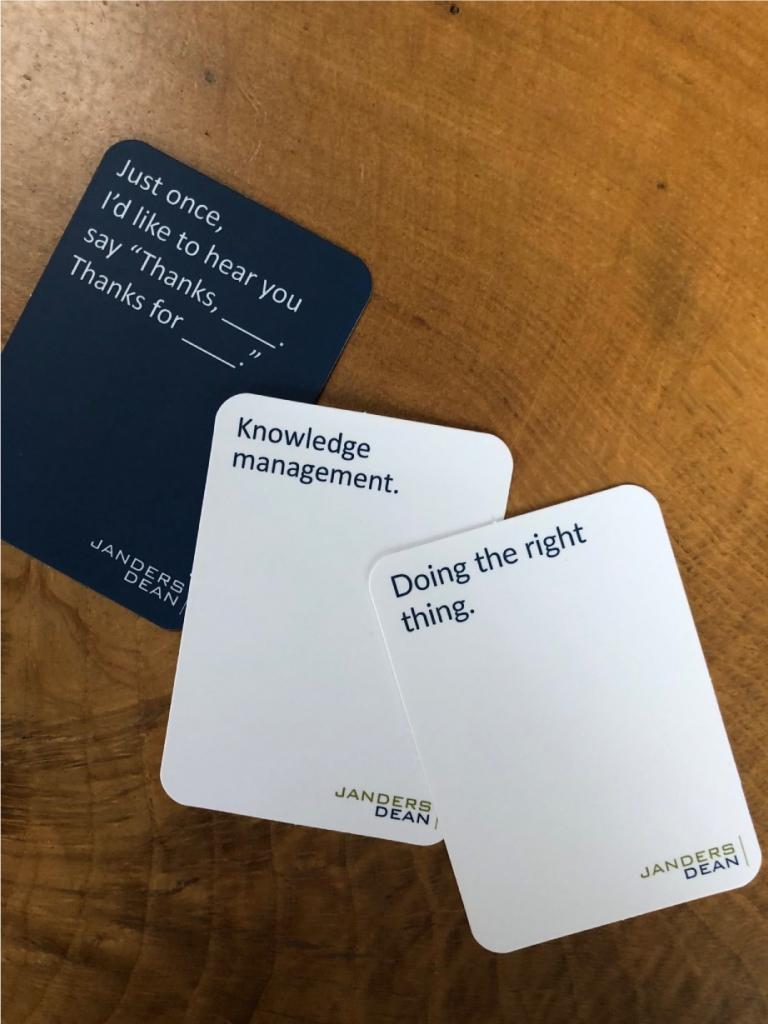 #CardsAgainstLaw
